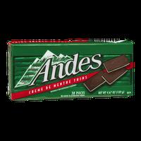 Andes Creme De Menthe Thins - 28 CT