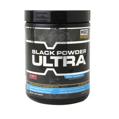 MRI Black Powder Ultra Pre-Workout Blue Raspberry