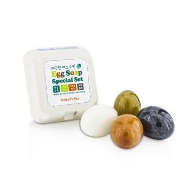 Holika Holika Egg Soap 4 Type SET 50g*4