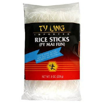Reese Ty Ling Py Mai Fun Rice Sticks, 8-Ounce Packages (Pack of 12)