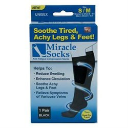 Ontel Miracle Socks Small/Medium - ONTEL PRODUCTS CORPORATION