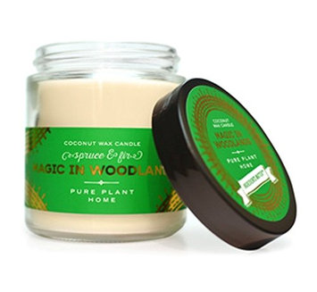 Pure Plant Spruce + Fir coconut wax candle