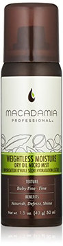 Macadamia Professional Weightless Moisture Dry Oil Mist