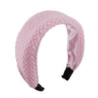 Uxcell Acrylic Polyester Coated Women Hair Hoop Band Headband