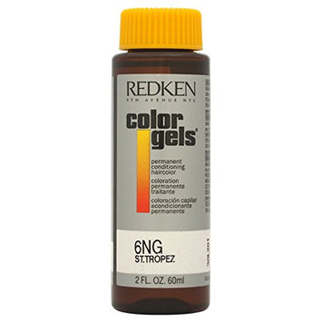 Redken Color Gels Permanent Conditioning 6NG St. Tropez Hair Color for Unisex