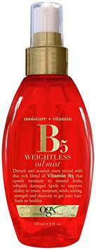 OGX® Moisture Plus Vitamin B5 weightless Oil mist
