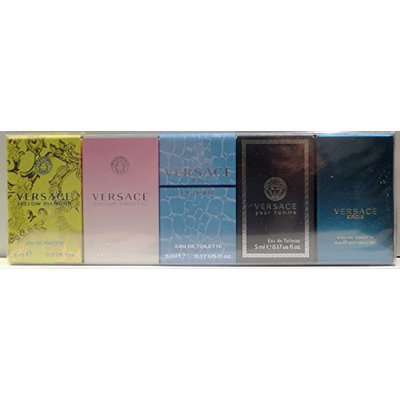 Versace Miniatures Collection Fragrance Set