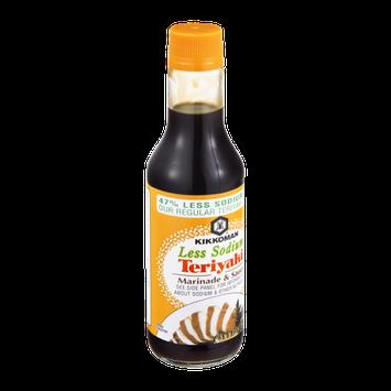 Kikkoman Teriyaki Marinade & Sauce Less Sodium