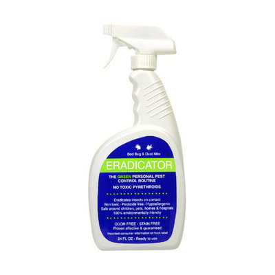 Eradicator Bed Bug & Dust Mite Eco Spray 24 oz