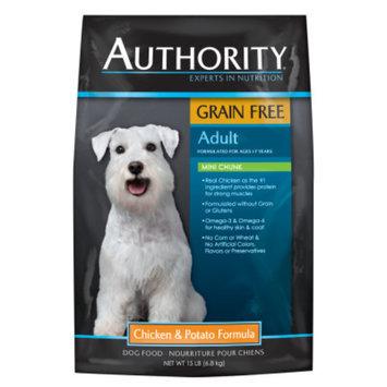 AuthorityA Grain Free Mini Chunk Adult Dog Food