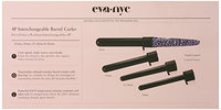 Eva NYC Interchangeable Barrel Clip-Free Curler