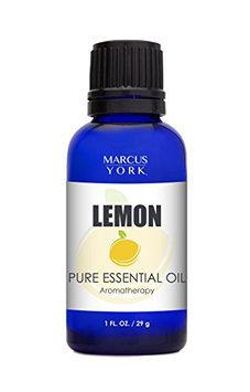 Marcus York 100% Lemon Essential Oil