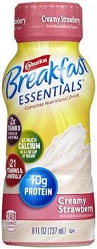 Carnation Breakfast Essentials Complete Nutritional Drink Creamy Strawberry - 6 CT