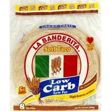 La Banderita, Tortilla Lc 8Pc, 12.7 OZ (Pack of 12)