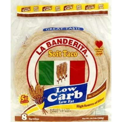 La Banderita, Tortilla Lc 8Pc, 12.7 OZ (Pack of 12)