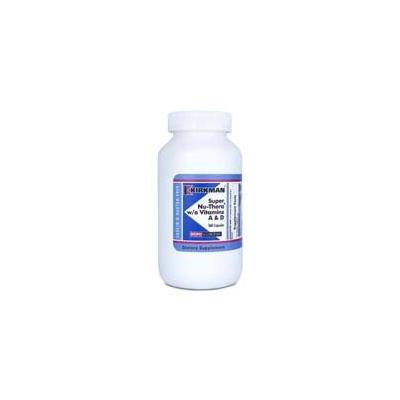 Super Nu-Thera w/o Vitamins A & D 360 Caps by Kirkman