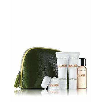 La Mer Skin Care Travel Set 6pcs: The Moisturizing Cream .24 oz / 7ml + La Mer The Eye Balm Intense .1 oz / 3ml + La Mer The Regenerating Serum .17 oz / 5ml + La Mer The Hand Treatment Sealed Tube 1 oz / 30ml + The Moisturizing Gel Cream .1 oz / 3.5ml....