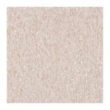 ARMSTRONG FP51809031 Vinyl Composition Tile,45sq. ft, Beige