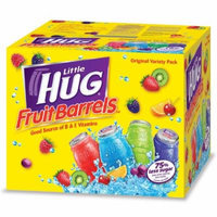 Little Hugs Assorted Fruit Drinks, Box of 40/8 Oz