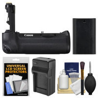 Canon BG-E16 Battery Grip for EOS 7D Mark II Digital SLR Camera with LP-E6 Battery & Charger + Accessory Kit