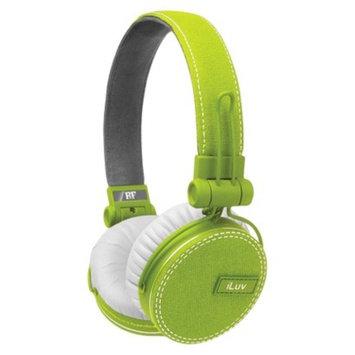 iLuv ReF Deep Bass Canvas On-Ear Headphones - Green