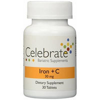 Celebrate Iron + C 30mg Tablet - 30 Day