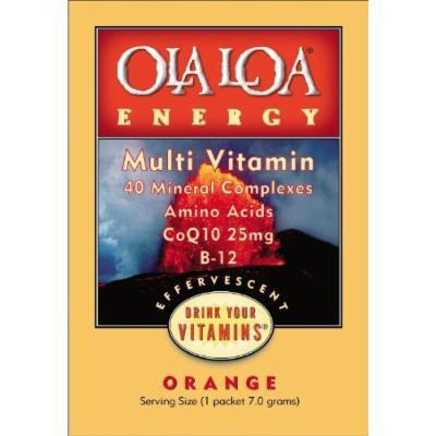 Ola Loa Energy Orange Multivitamin - One Month Supply - 30pack