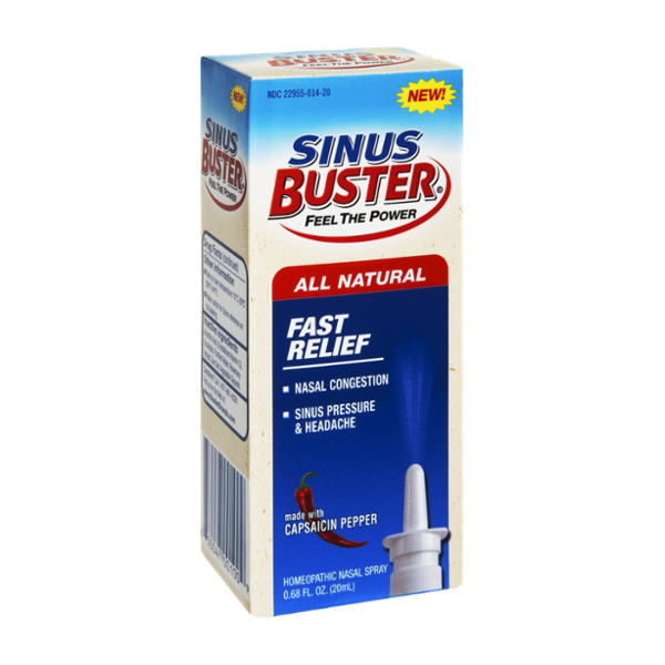 Sinus Buster Fast Relief with Capsaicin Pepper Nasal Spray