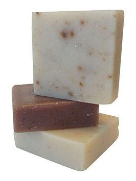 Orange Muslin Handmade Soap Goat's Milk Soap Trio Country Rose