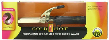 Gold 'N Hot Professional Gold Triple-Barrel Waver