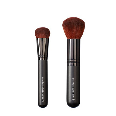 Makeover Vegan Love Chubby Blender and Jumbo Buffer Brush