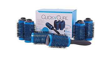 Click n Curl - Round Styling Brush Tool - Full Set - Large
