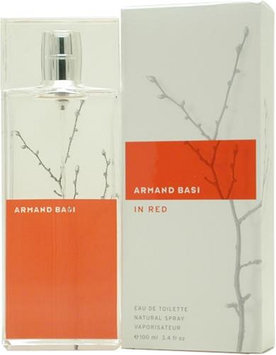 Armand Basi Red By Armand Basi For Women. Eau De Toilette Spray 3.4 Ounces
