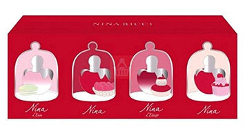 NINA RICCI 4 Piece Mini Fragrance Gift Set