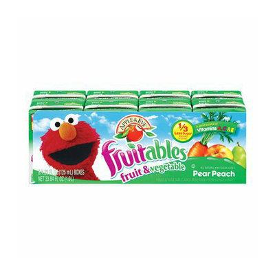 Apple & Eve Fruitables Pear Peach Fruit & Vegetable Juice Box 8 pk