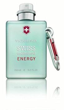 Victorinox Swiss Unlimited Energy Eau de Cologne Spray 5.0 Ounce