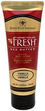 Honey House Naturals Bee Butter Lotion Vanilla