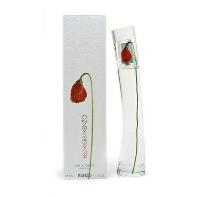 Flower by Kenzo for Women - 1 Ounce EDP Spray (Rechargeable)