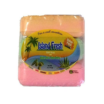 Island Fresh Bath Soap Variety
