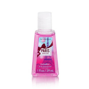 Bath & Body Works® PocketBac® PARIS AMOUR Anti-Bacterial Hand Gel