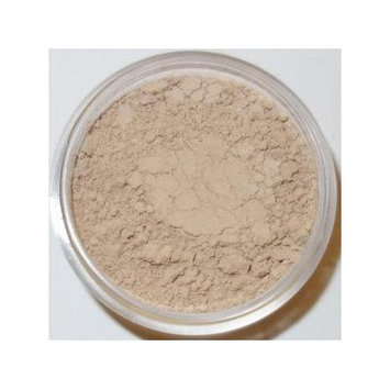 NEW! Powder Me Louder Soothing Redness Control Mineral Foundation & Concealer in One - Bisque Warm Beige - (Includes Color Perfecting Kit) Beautiful Mineral Makeup at a Beautiful Down to Earth Price