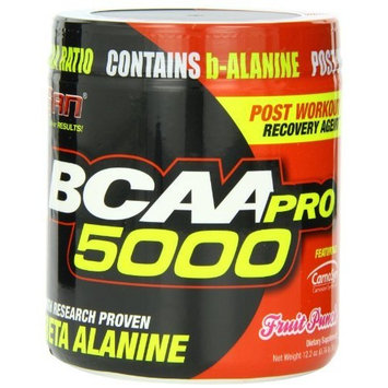 San Nutrition SAN BCAA-Pro 5000, Fruit Punch 345 Grams