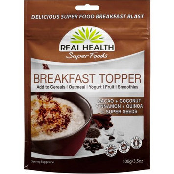 Real Health Super Foods Breakfast Topper, 3.5 oz