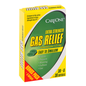 CareOne Extra Strength Gas Relief Softgels