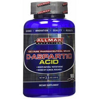 Allmax Nutrition D-Aspartic Acid 100 Grams