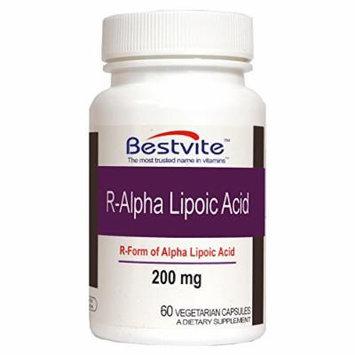 R-Alpha Lipoic Acid 200mg w Biotin (60 Vegetarian Capsules)