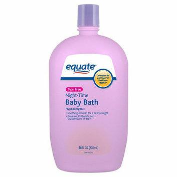 Equate Tear Free Night-Time Baby Bath