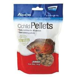 Aqueon Supplies Aqueon AQE06186 Aqen Cichlid Pellets Jumbo 5Oz