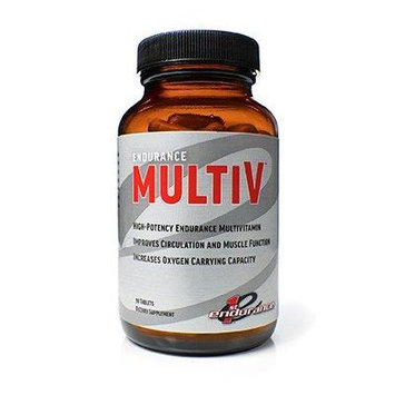 New and Improved First Endurance Multi-V, 90 Capsules TWIN PACK w/ free Sportlegs Trial