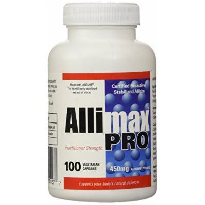 Allimax Pro 450mg Professional Strength (100 Vegetarian Capsules) Brand: Allimax